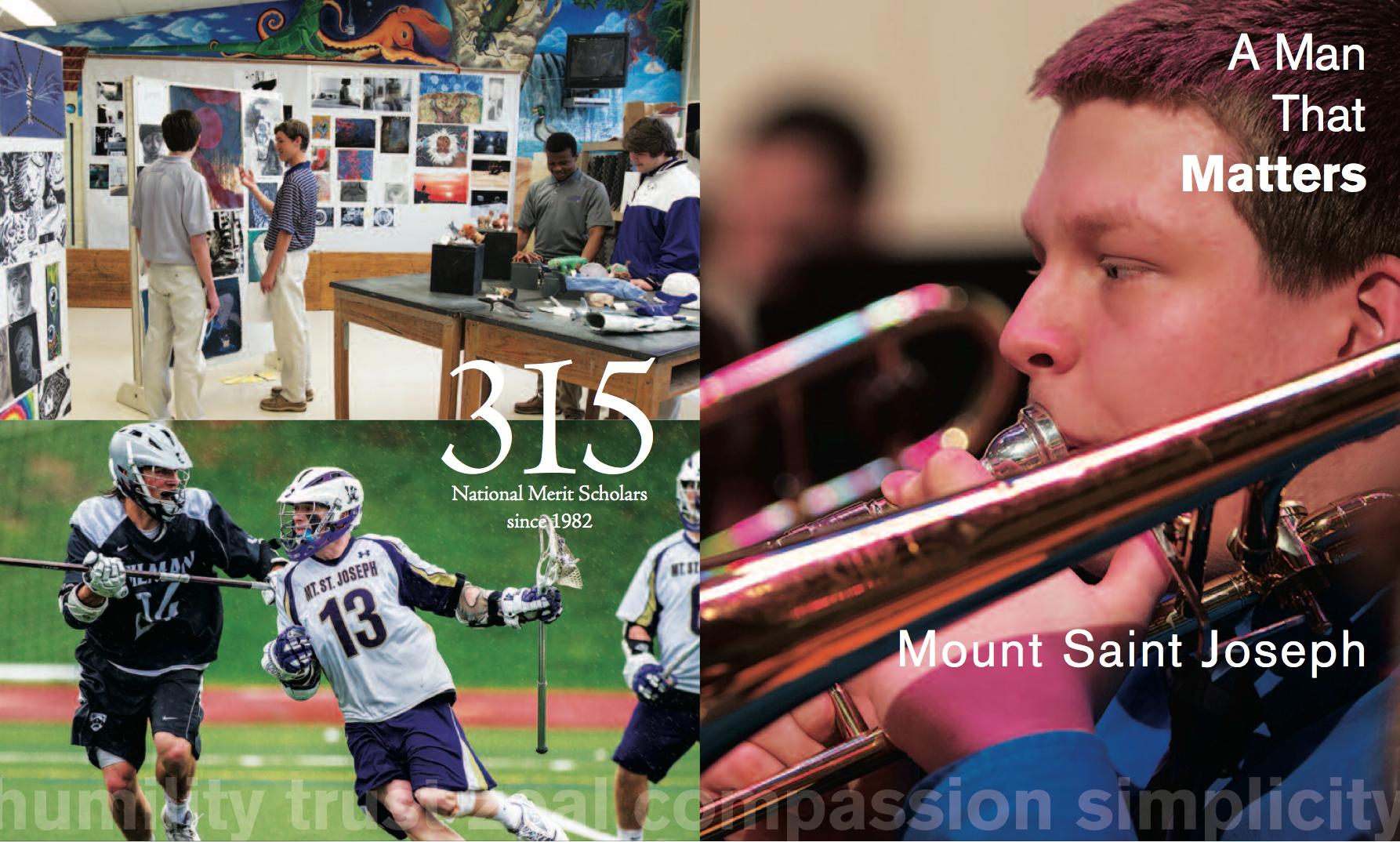 Mount Saint Joseph High School admissions