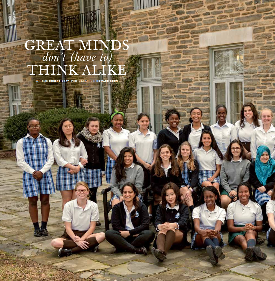 St. Timothy's School Great Minds article
