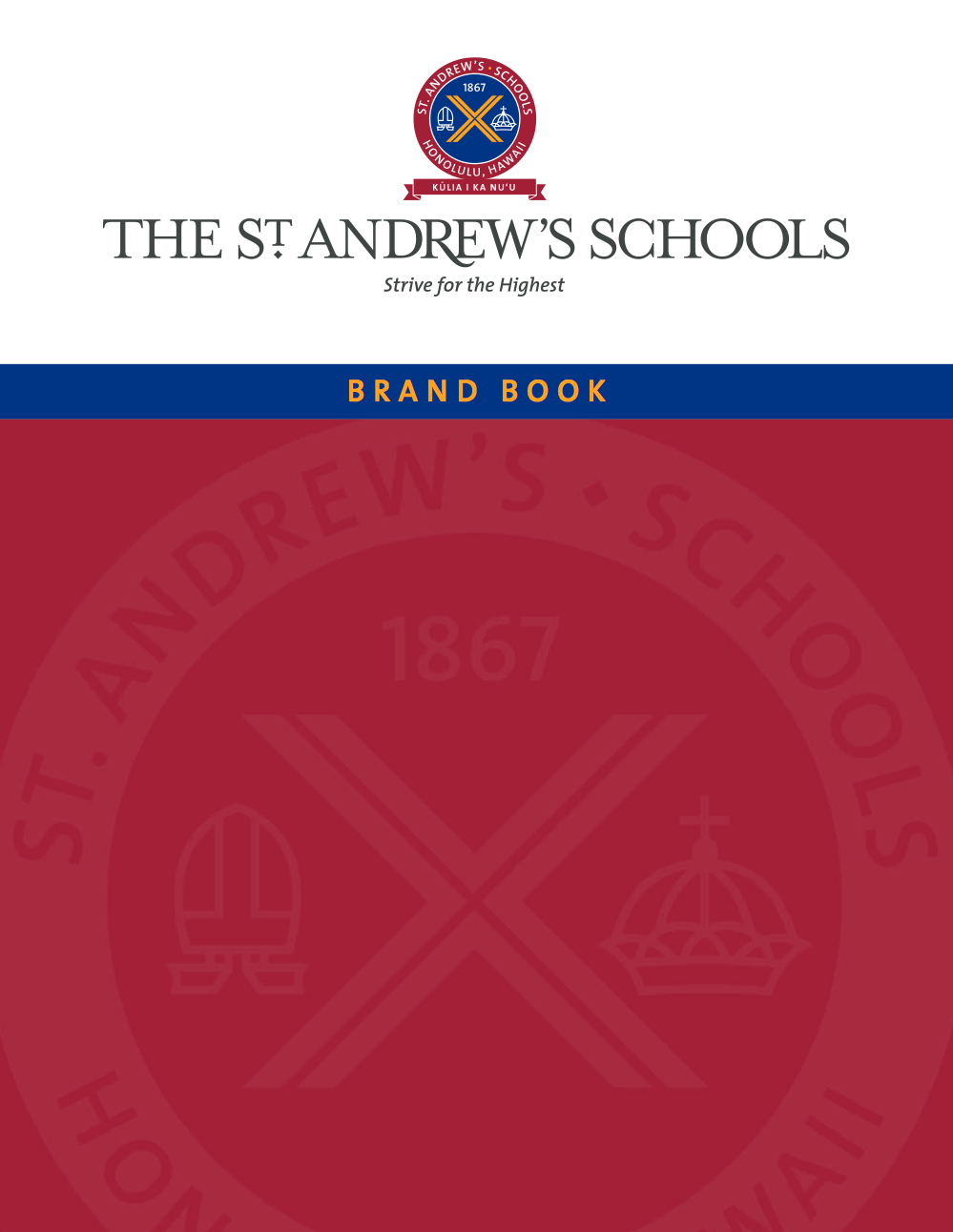 St. Andrew's Schools brand book