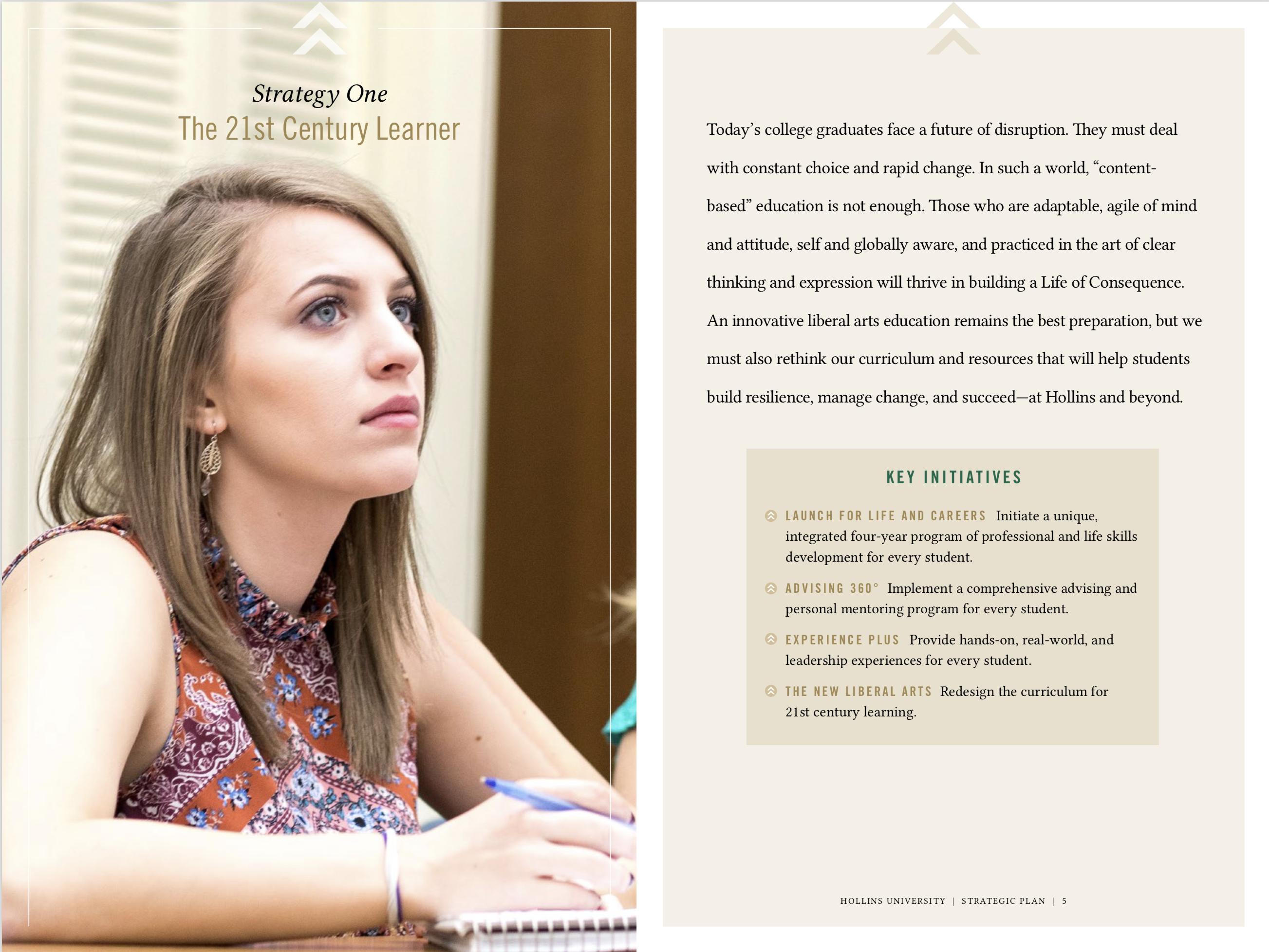 Hollins University strategic vision